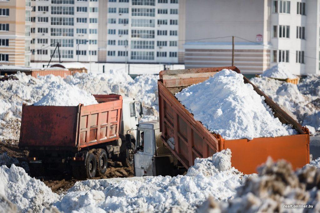 Вывоз снега Чебоксары Новочебоксарск
